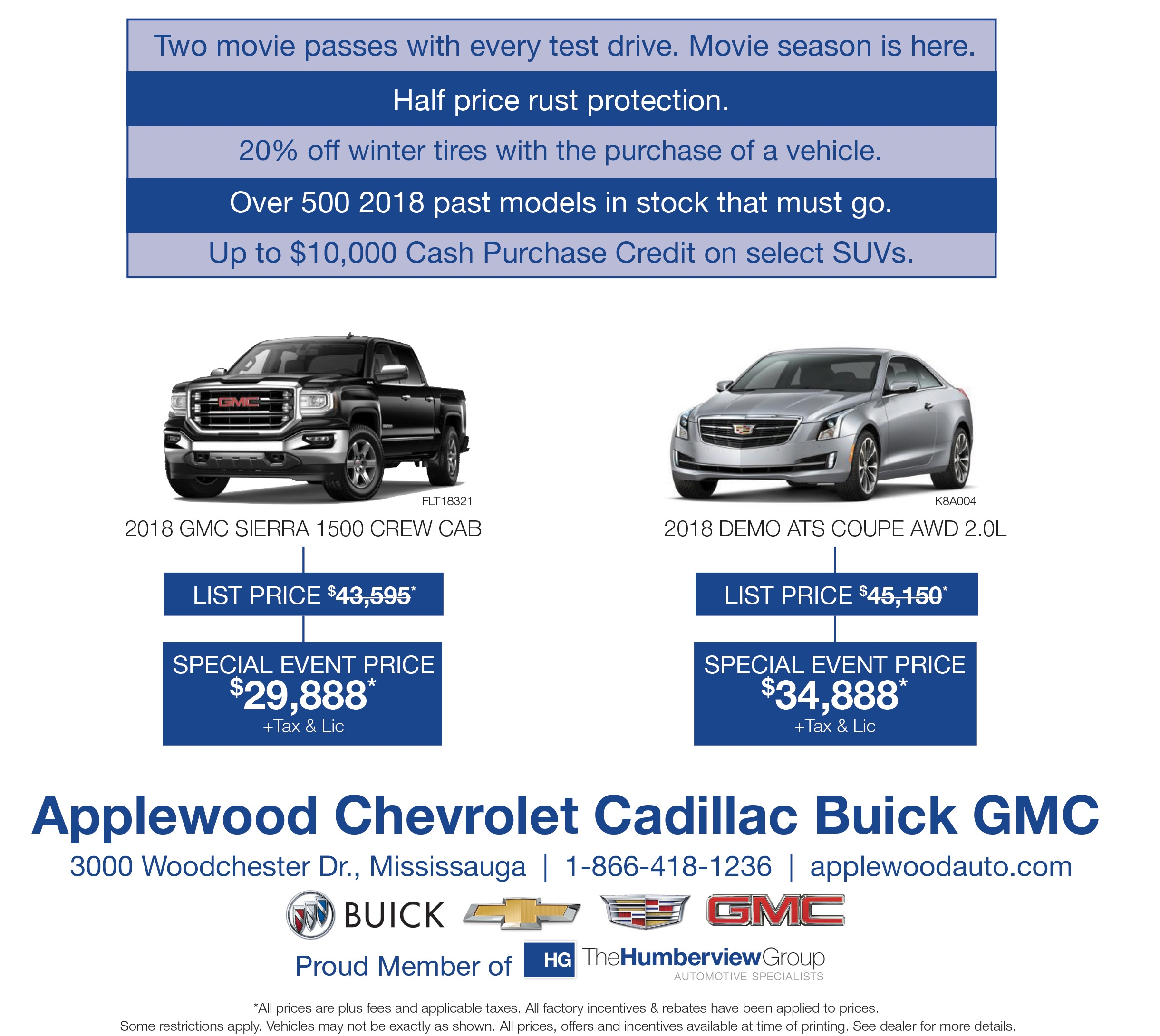 Applewood Chevrolet Cadillac Buick GMC in Mississauga, ON