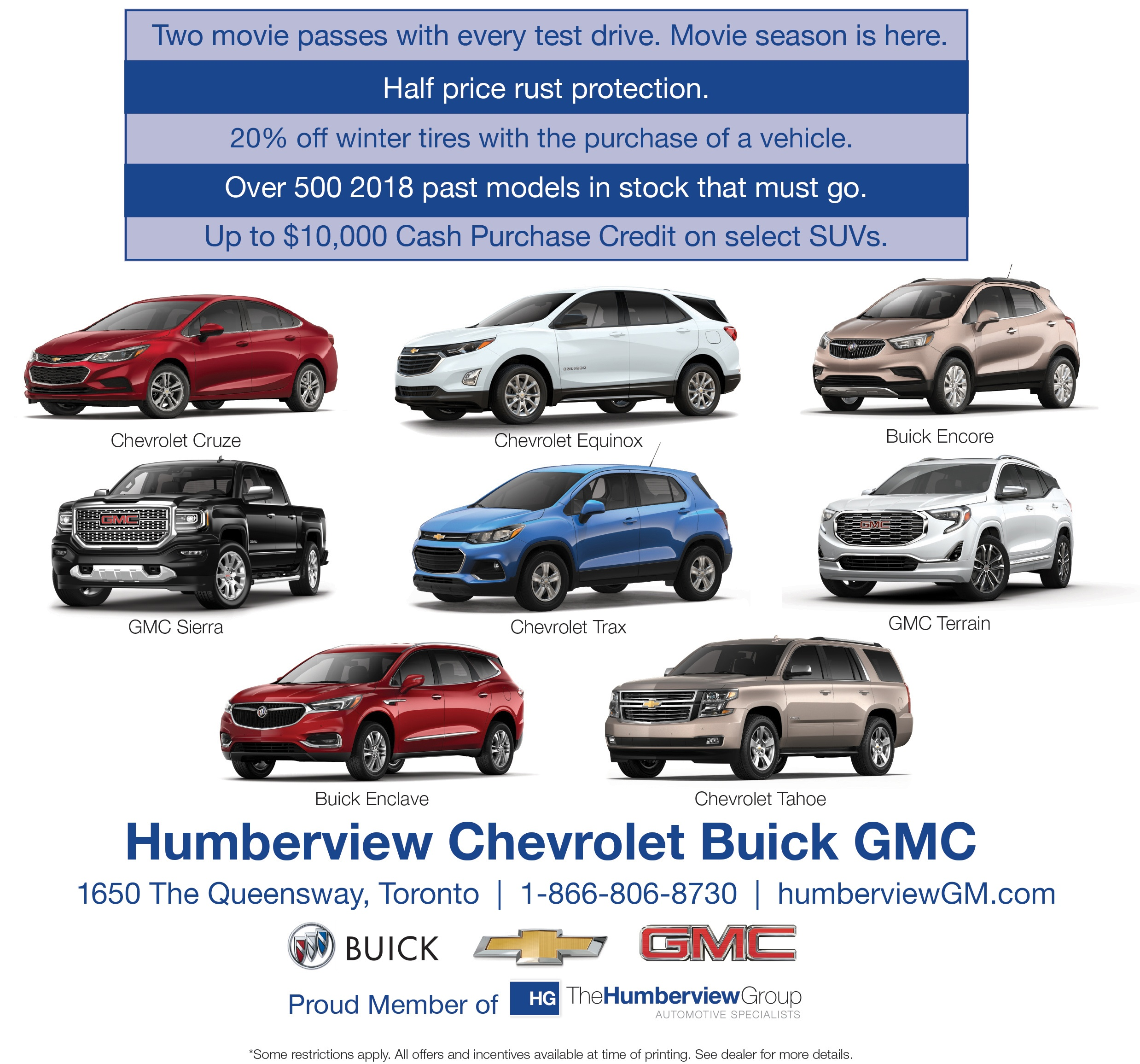 Humberview Chevrolet Buick GMC in Etobicoke, ON