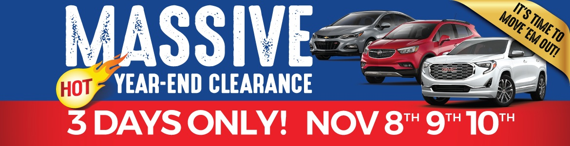 Humberview Chevrolet Buick GMC Clearance Sale 3 Days Only