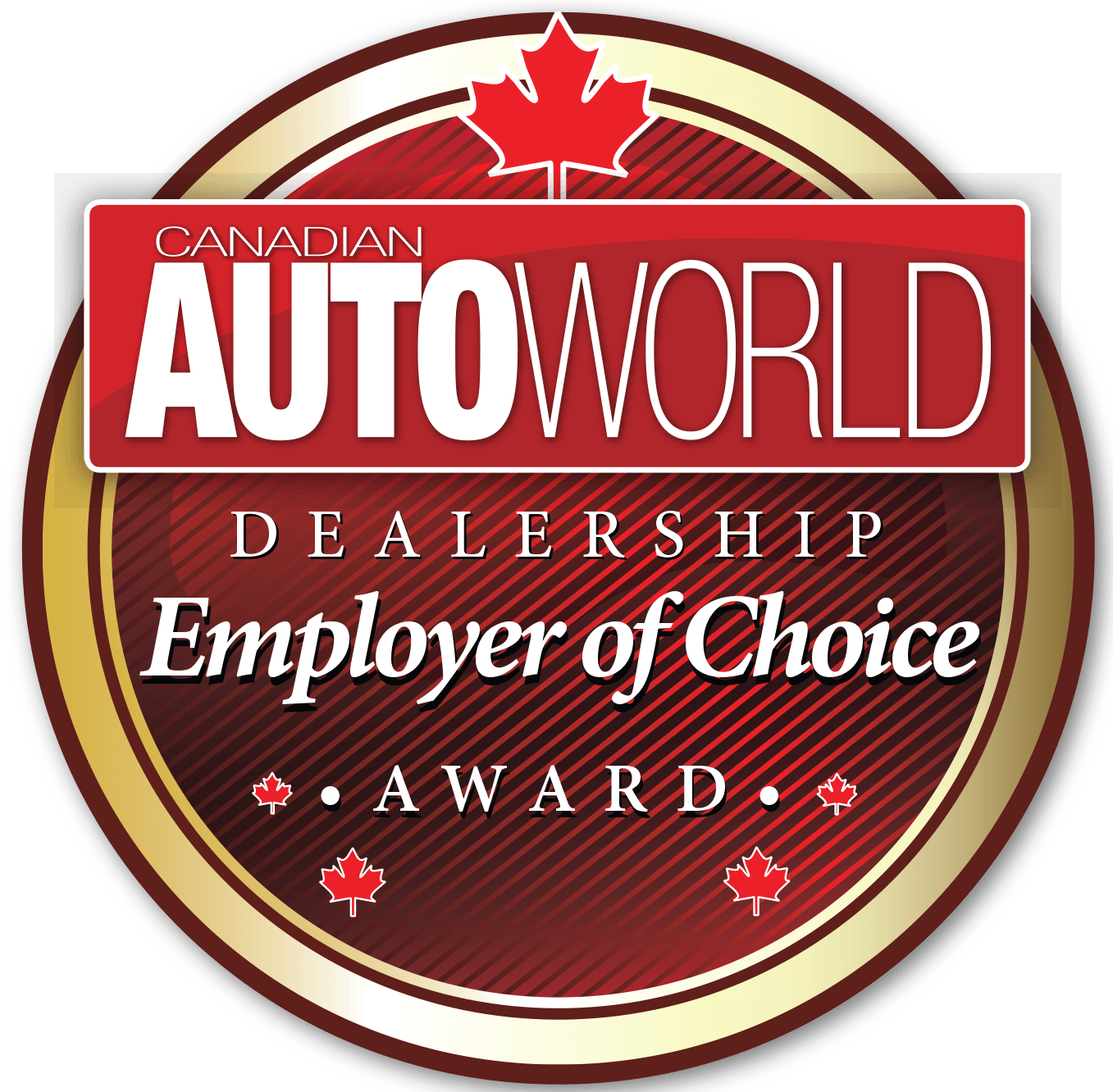 CAWEOC Dealership Employer of Choice Award