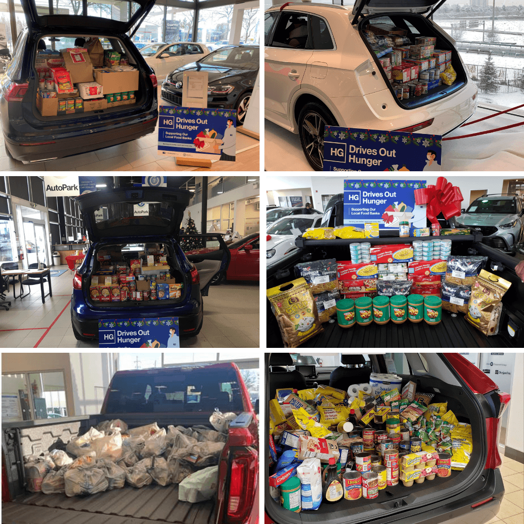 HG Drives Out Hunger - Humberview Group